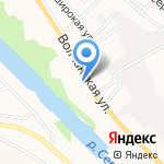 Автостимул на карте Белгорода