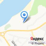 Серебряный Донец на карте Белгорода