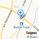 БелГруз на карте Белгорода