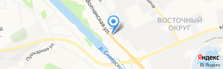 М-Агро на карте Белгорода