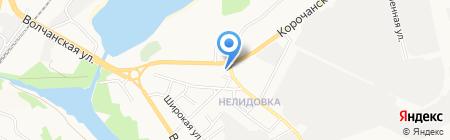 Магазин шашлыка и вин на карте Белгорода