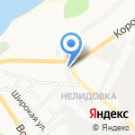Джан на карте Белгорода