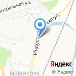 Уварова Л.В. на карте Белгорода