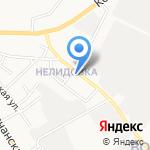 Хозпромторг на карте Белгорода