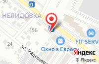 Схема проезда до компании Магазин стальных дверей и пластиковых окон в Белгороде