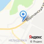 Кореец на карте Белгорода