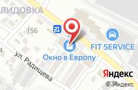 Схема проезда до компании Окно в Европу в Белгороде