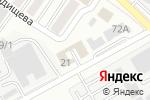 Схема проезда до компании Авто-ритет в Белгороде