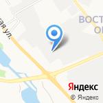 Автомиг на карте Белгорода