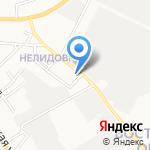 Почтовое отделение №6 на карте Белгорода