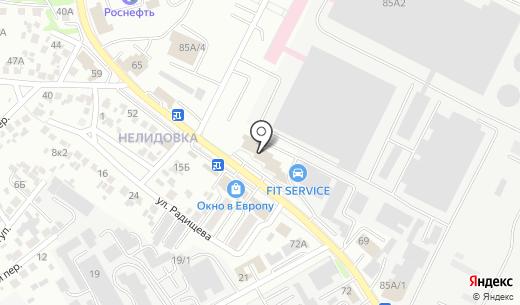 Меркур. Схема проезда в Белгороде