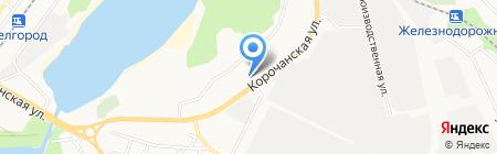 Масла на розлив на карте Белгорода