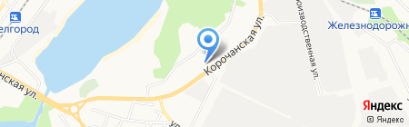 Стартеры и Генераторы на карте Белгорода