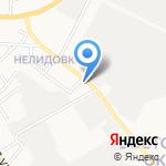 Расцвет на карте Белгорода