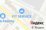 Схема проезда до компании ВАШ СВЕТ в Белгороде