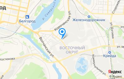 Местоположение на карте пункта техосмотра по адресу г Белгород, ул Корочанская, д 85Б