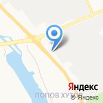 Портал на карте Белгорода