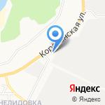Фаэтон на карте Белгорода