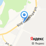 Дорожный на карте Белгорода