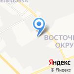 Литьё Белогорья на карте Белгорода