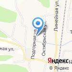 Кудряшка на карте Белгорода