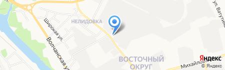 ЭТМ на карте Белгорода