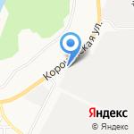 Мир потолков на карте Белгорода