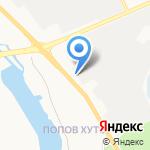 Электромашина на карте Белгорода