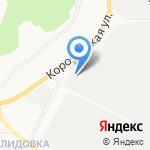 Белсвязь на карте Белгорода
