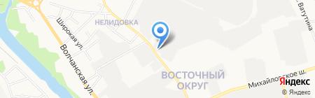 Продмагъ на карте Белгорода