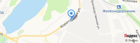 Станица на карте Белгорода