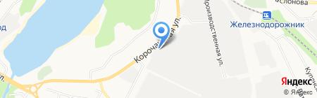Мир колес-центр на карте Белгорода