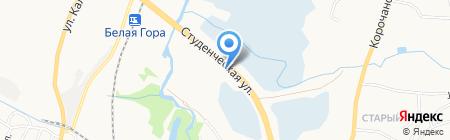 Нептун на карте Белгорода