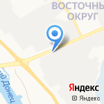 Корунд на карте Белгорода