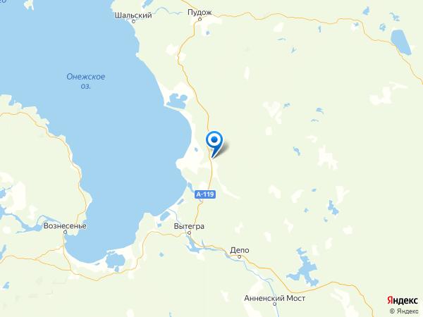 населенный пункт Пустошь на карте