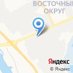 Столовая на карте Белгорода
