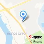 Завод-Новатор на карте Белгорода