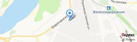 Ойл Трейд Компани на карте Белгорода