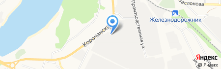 ТехноСтрой на карте Белгорода