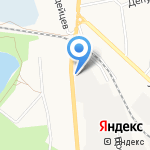 Рассвет на карте Белгорода