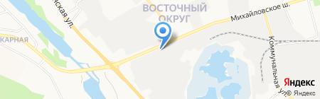Фабрика компрессоров на карте Белгорода