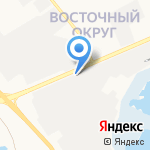 Электродвигатель на карте Белгорода