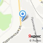 Батарейка на карте Белгорода