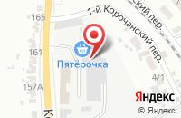 Схема проезда до компании Сибирский Лес в Белгороде