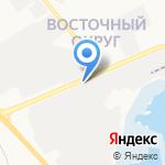 Дорожник на карте Белгорода