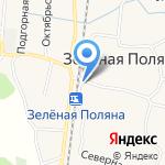 Перекрёсток на карте Белгорода
