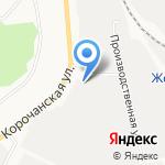 СнабРесурс на карте Белгорода