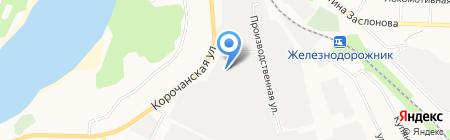 Авто-Комплект на карте Белгорода