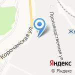 Митрополь на карте Белгорода