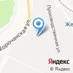 Новый лес на карте Белгорода